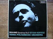 SXL 6172 BRAHMS: SYMPHONY No. 2   ISTVAN KERTESZ / VIENNA PHILHARMONIC    NM