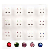 24pcs/set  New Stud Piercing Tool Kit Ear Earing Piercing Gun Ear Piercing E3G1