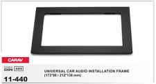 CARAV 11-440 2Din Marco Adaptador Kit de Radio Universal 173 x 98 / 212 x 138 mm