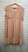 Kaari Blue NWT Shift Dress Blush Pink Women's Size Petite XL New $109.50