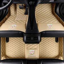 Car Floor Mats for Cadillac ATS CTS CT6 SRX XT5 XTS luxury custom Car Floor Mats