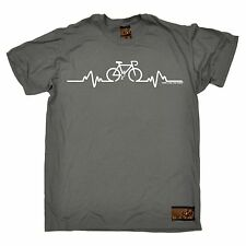 Bike Pulse T-SHIRT Tee Cycling Bicycle Riding Medic Doctor Gift fathers day