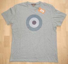 """Ben Sherman T-Shirt """"The Target Tee"""" Grau Gr. L (Konfektion 52/54) *NEU*"""