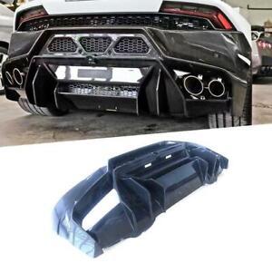 For Lamborghini LP610 LP580 V Style Carbon Fiber Rear Bumpers Diffuser Body Kit