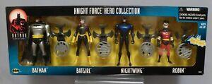 1998 KENNER NEW BATMAN ADVENTURES KNIGHT FORCE HERO COLLECTION FIGURE SET (MIB)