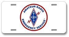 ARES Logo - Amateur Radio Emergemcy Service License Plate - Ham Radio