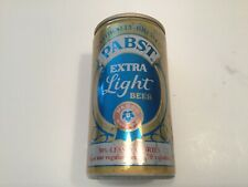 New listing Vintage Pabst Blue Ribbon extra light beer can aluminum