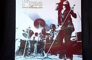 "Free Live In Stockholm 1970 + 5 bonus tracks 2 x 12"" vinyl LP New + Sealed"