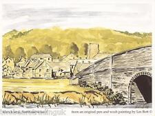 Postcard: Les Bott - Blanchland, Northumberland (Pilkington Family Trust)