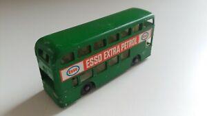 1970s Matchbox #74 Daimler Bus ESSO Very Good Lesney England Green