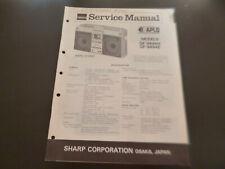 Original Service Manual Schaltplan  Sharp GF-9494H/E