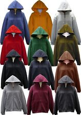 SPECIEN Adult Full Cover Zipper Solid Cozy Soft Fleece Sweatshirts Jacket Hoodie