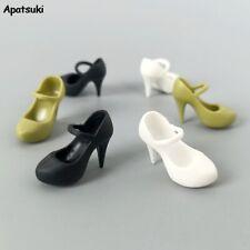 Footwear Elegant Heeled Shoes for Barbie Doll High Heels Shoes for Blythe Doll