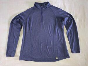 REI Co-op Quarter-Zip Tech Shirt Women's XL