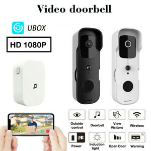 Security WiFi Wireless Video Smart Doorbell Camera Door Ring Intercom Bell Chime