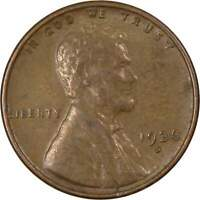 1936 S Lincoln Wheat Cent AG About Good Bronze Penny 1c Coin Collectible