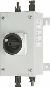 Europa Metal Clad DC Isolator Solar PV 4 pole 16A 1000V Disconnector