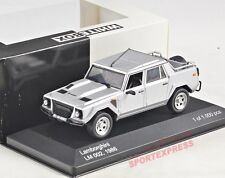 NEW 1/43 White Box WB105 Lamborghini LM002, Silver 1986
