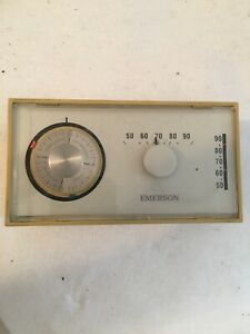 Emerson Electric Thermostat Vintage