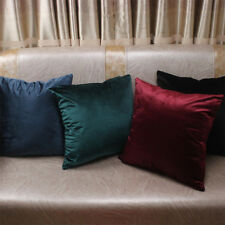 New Velvet Pillow Sofa Waist Throw Cushion Cover Home Decor Cushion Cover Case B