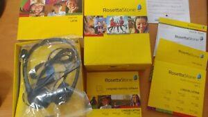 ROSETTA STONE LATIN Levels 1-2 Lingua Latina, Win/Mac CD-ROM Version 3