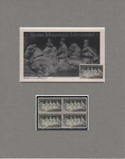 1970 Stone Mountain Confederate Memorial Commemorative Stamp First Day of Issue