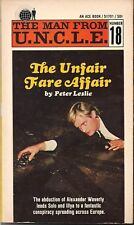 The Man From U.N.C.L.E. Number 18, The Unfair Fare Affair by Peter Leslie