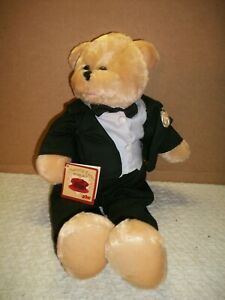 """PBC Chantilly Lane Musicals ~ 19"""" Groom Bear ~ w/Tag ~ (Plays:Grow Old With Me)"""