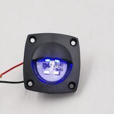 LED luz del piso de cortesía compañero camino Cubierta Negra de luz azul 12 V