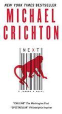 Harper Fiction: Next by Michael Crichton (2008, Paperback)