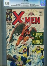 X-Men 27 CGC 7.0 with White/Off white pages and white cover
