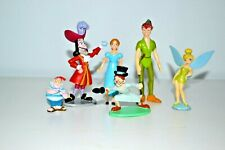 Disney Peter Pan Figures, Captain Hook, Smee, Wendy & John Darling, Cake Topper