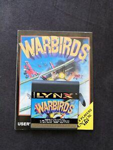 Atari Lynx-Spiel: Warbirds (Modul & Anleitung)