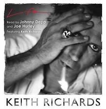 KEITH RICHARDS Life - 20 CD Audio Talking Book - New - Rad by Johnny Depp