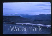 1963 Kodachrome Photo slide Near The Dalles Oregon Highway Scene