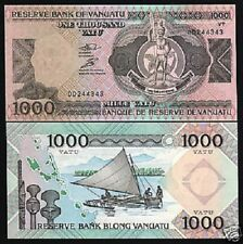 Vanuatu 1000 Vatu P6 1993 Boat *Dd* Prefix Unc World Currency Money Bank Note