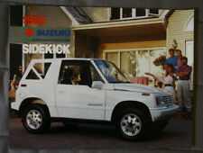 SUZUKI SIDEKICK 1990 dealer brochure - French - Canadian Market