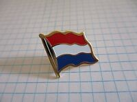 FLAG NETHERLANDS HOLLAND VINTAGE LAPEL PIN BADGE us4/7