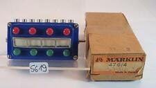Märklin H0 476/4 Stellpult Schalter Taster blau OVP #5619