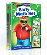 Rock 'N Learn Early Math 3 DVD Set (New)