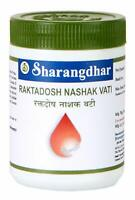 Sharangdhar Rakta Dosh Nasahak Vati 120 Tabs For Pimples Ringworm Eczema