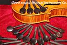 20pcs High Quality Violin Pegs Natural ebony wood 4/4 Violin Tuning Pegs