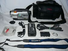 Sony CCD-TR818 8mm Video8 HI8 Camcorder VCR Player Camera Video Transfer