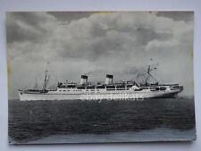 NAVE CONTE GRANDE Italia Navigazione ship Lloyd liner vecchia cartolina