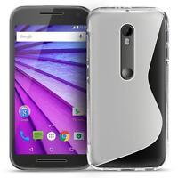 Handy Hülle Motorola Moto X Play Schutz Case Silikon Cover Tasche Schutzhülle