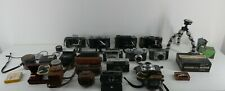 Job Lot Of Vintage Cameras / Bodies / Accessories Filters Lens Slide Viewer G15