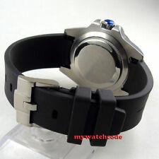 20mm black rubber strap fit 40mm sub sea parnis bliger mens watch