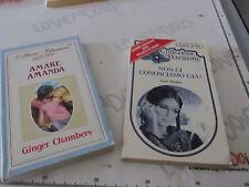 Coppia libri HARMONY e BLUEMOON - 1984