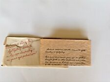 Abraham Lincoln Gettsburg Address On Parchment Paper /Other Items