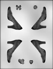 3D High Heel Shoes Chocolate Candy Mold from CK #13751